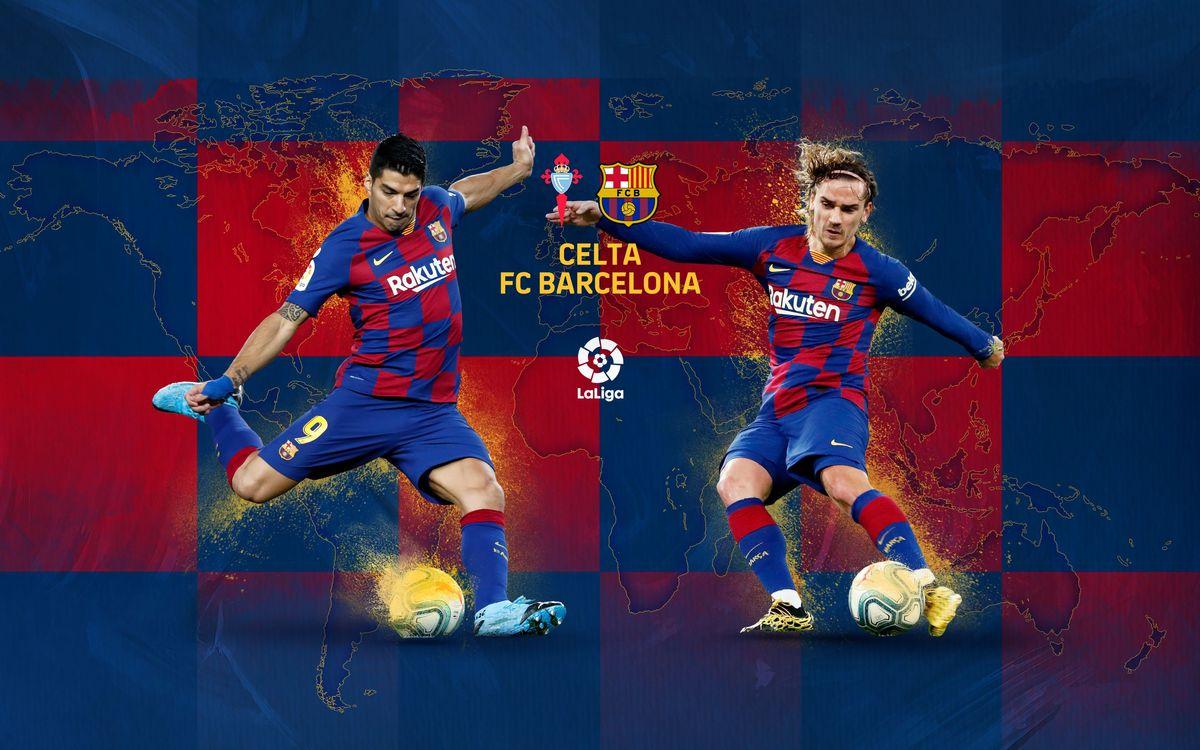 Cuándo y dónde ver el Celta de Vigo - FC Barcelona