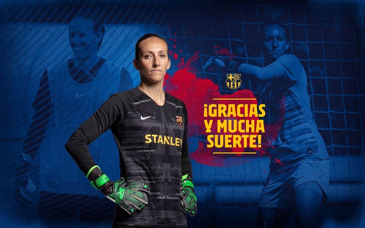 Finalitza l'etapa de Pamela Tajonar al Barça