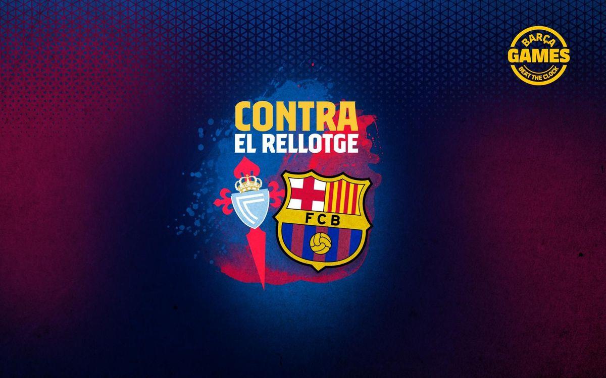 CONTRA EL RELLOTGE | Anomena els 11 futbolistes que han estat a Barça i Celta al s. XXI