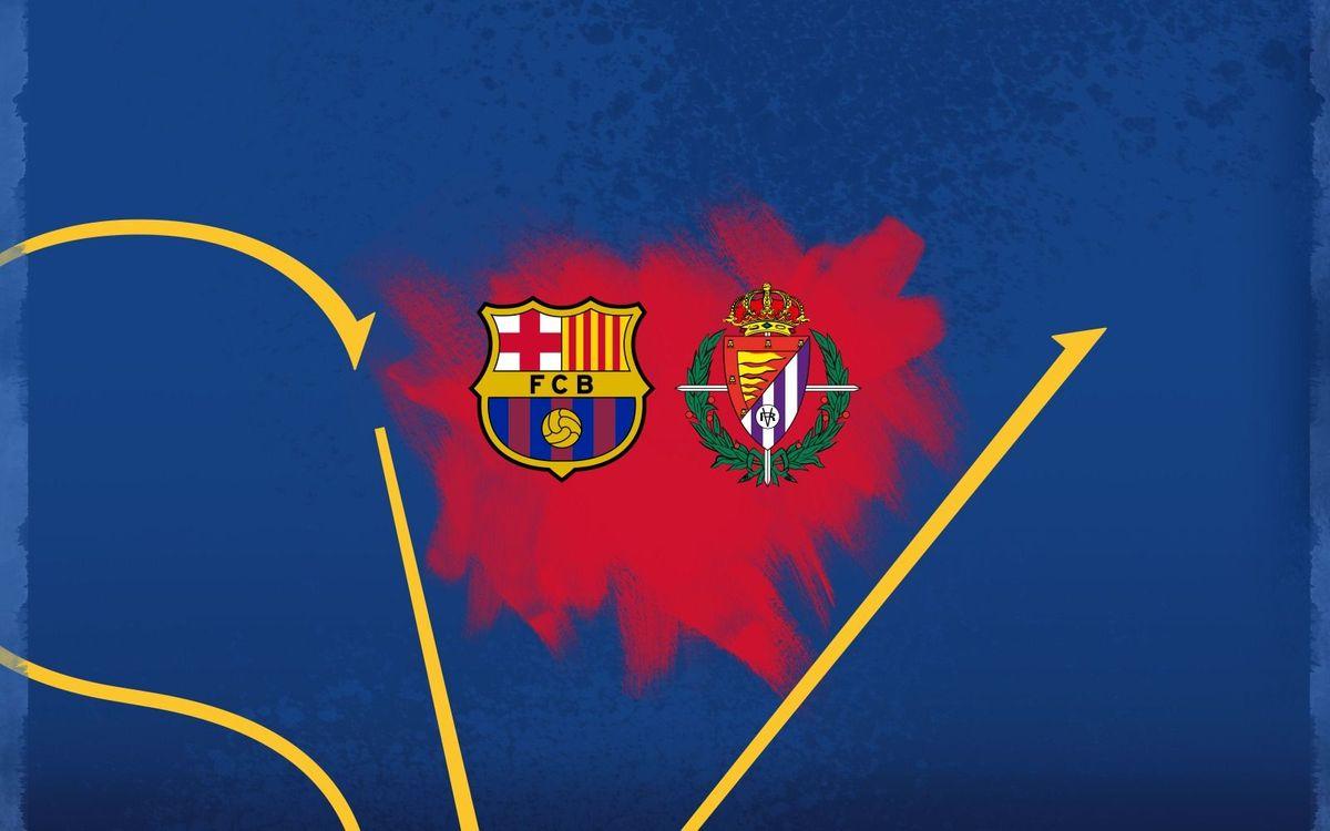El Real Valladolid Promesas, primer rival del Barça B en el Play-off de ascenso Segunda A