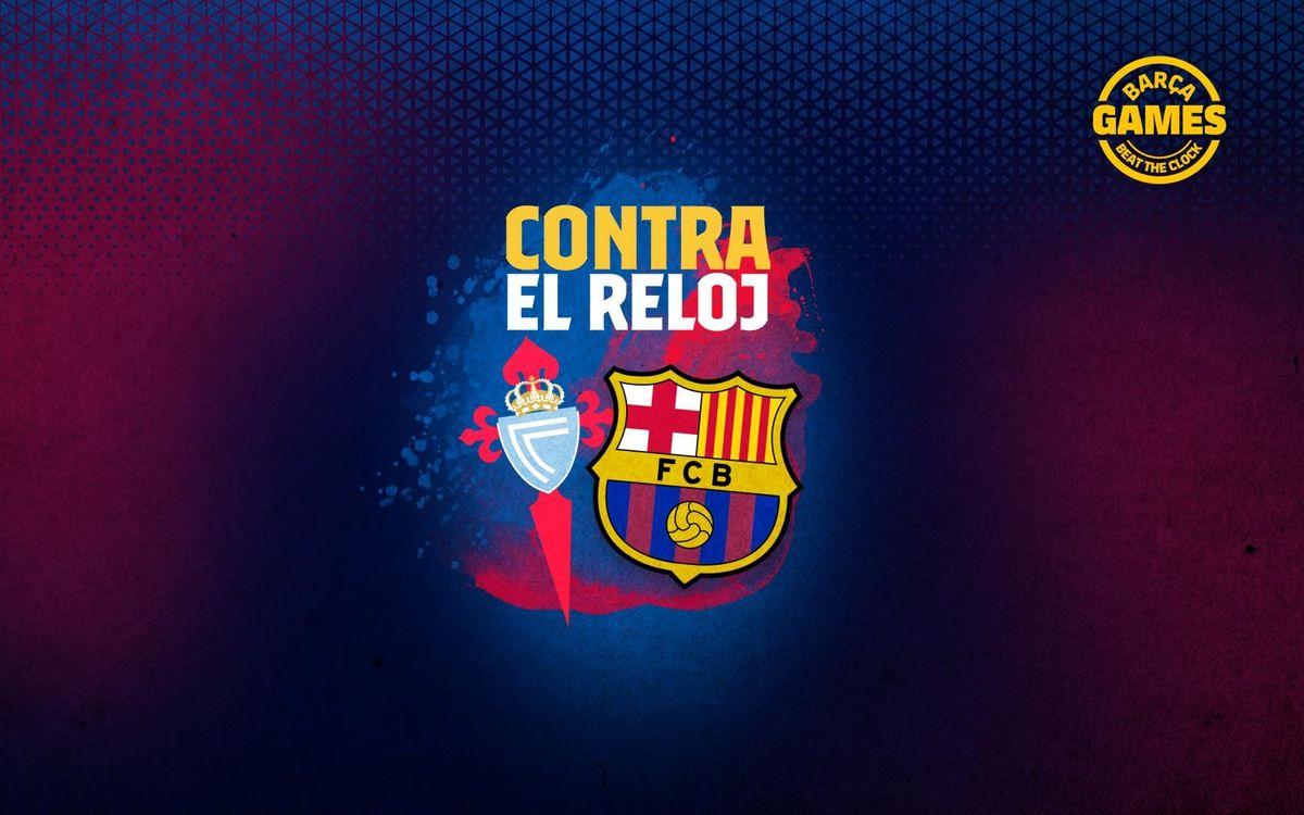 CONTRA EL RELOJ | Nombra los 11 futbolistas que han estado en Barça y Celta en el s. XXI