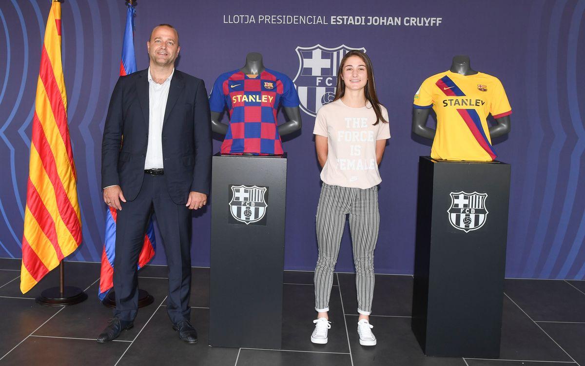 Jana Fernández y Bruna Vilamala firman su primer contrato profesional