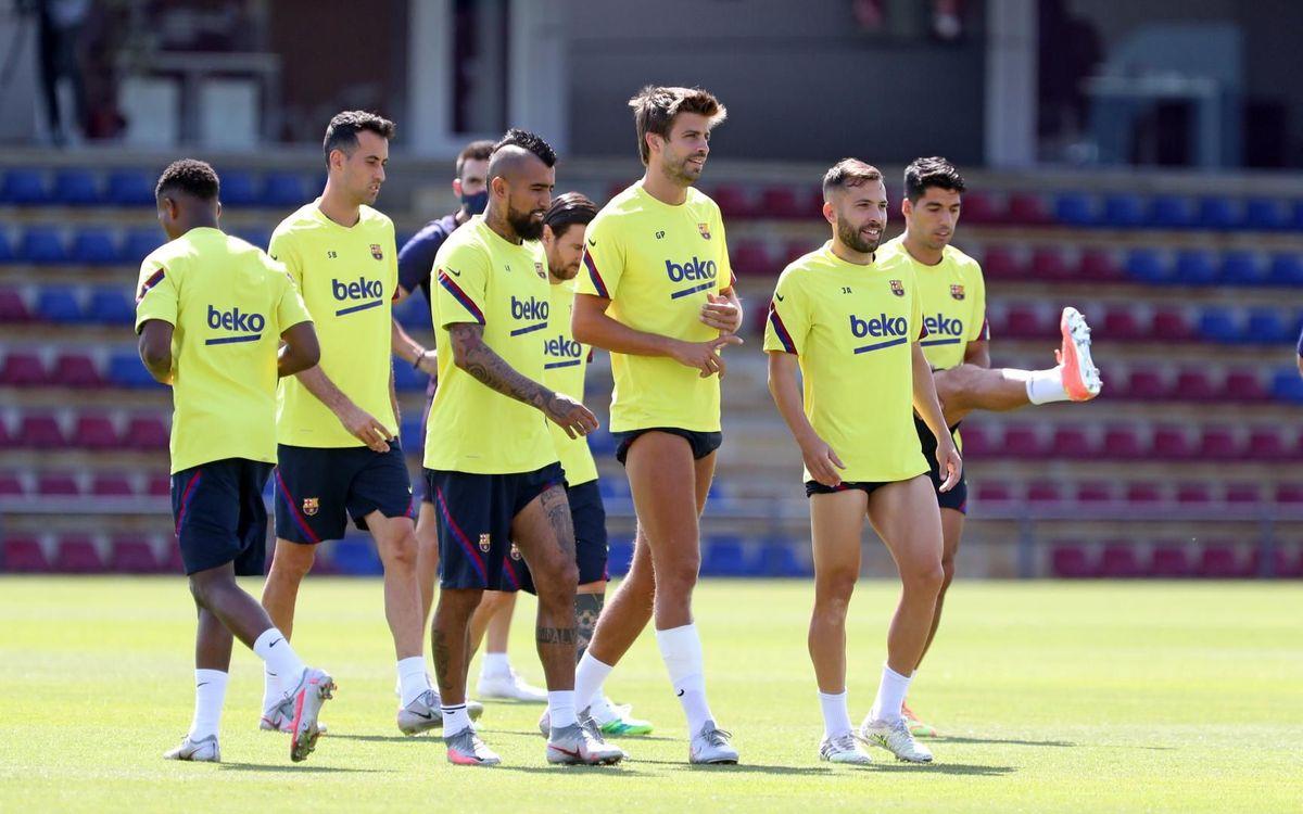 Así será la semana del Barça