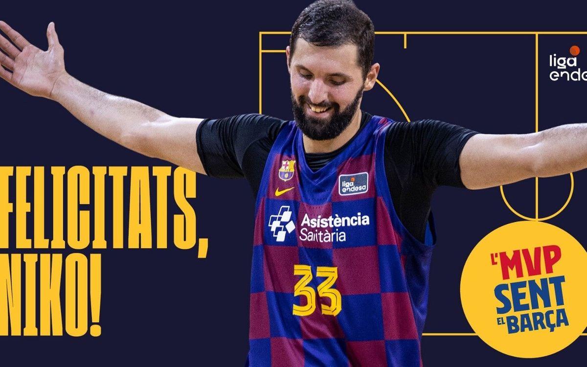 Nikola Mirotic, MVP Movistar de la Liga Endesa 2019/20