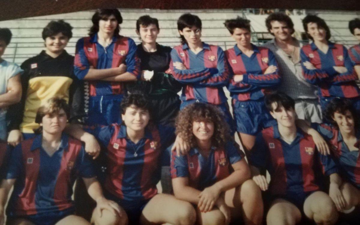El Barça Femenino ganó el primer título oficial de su historia hace 35 años