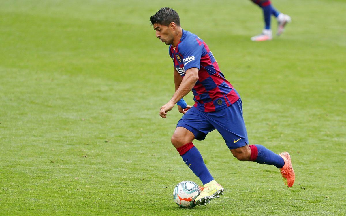Luis Suárez se reencuentra con el gol