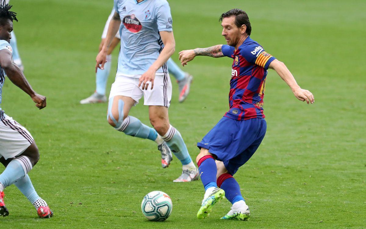 Сельта - Барселона, 2:2. Лионель Месси