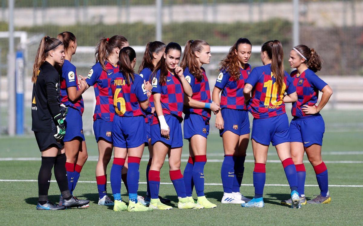 El FC Barcelona Femení B 2020/21, definit