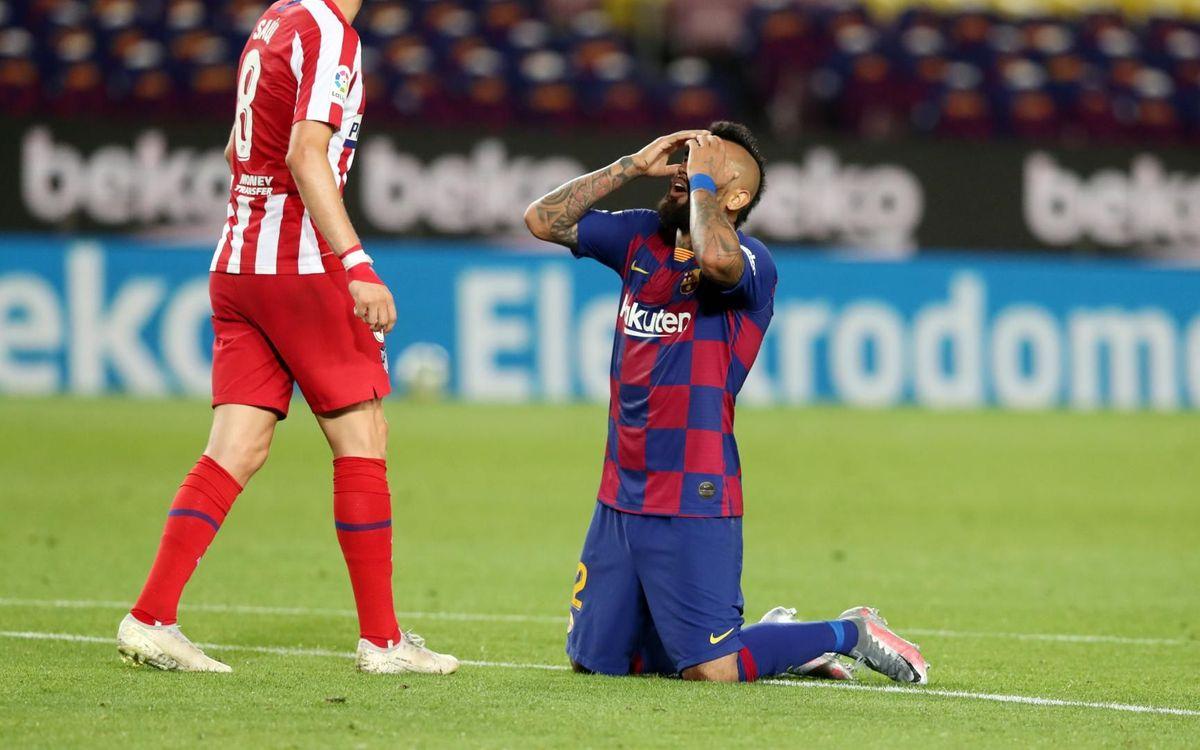 Barça - Atlético de Madrid: Empate cruel en el Camp Nou (2-2)