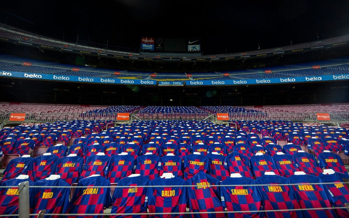 Culers to symbolically attend game at Camp Nou against Atlético Madrid