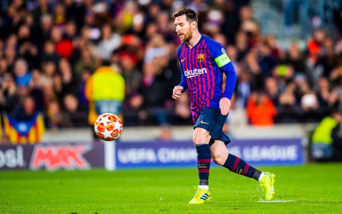 Cuarto gol de Messi al estilo Panenka