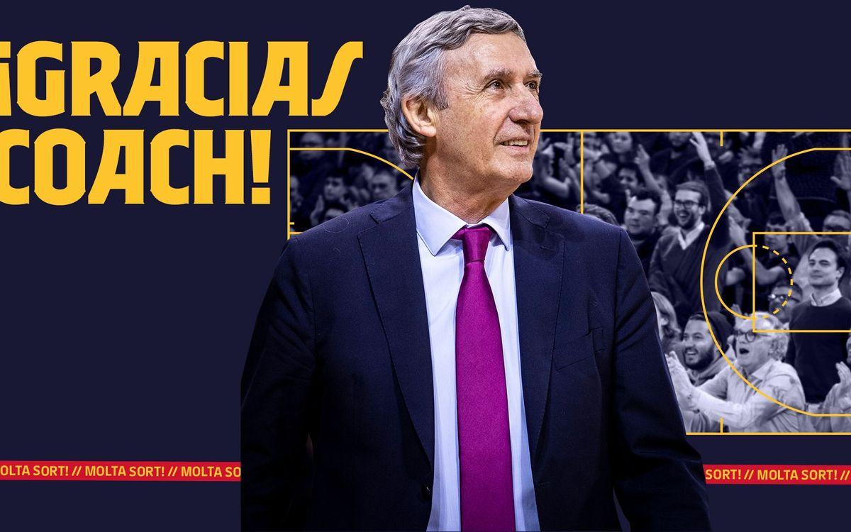 Acuerdo para la finalización del contrato de Svetislav Pesic