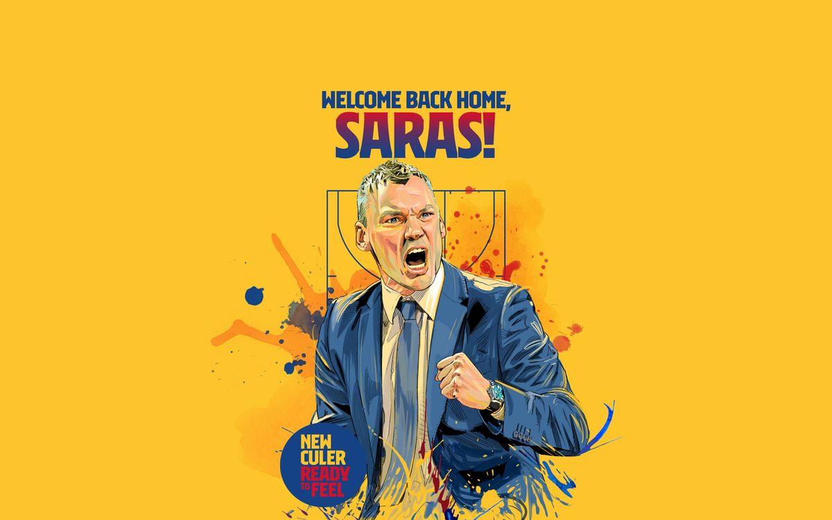 Sarunas Jasikevicius, nouvel entraîneur du Barça Basket pour les 3 prochaines saisons
