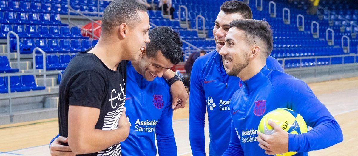 El Barça de Futsal tornarà a arrencar el 3 d'agost