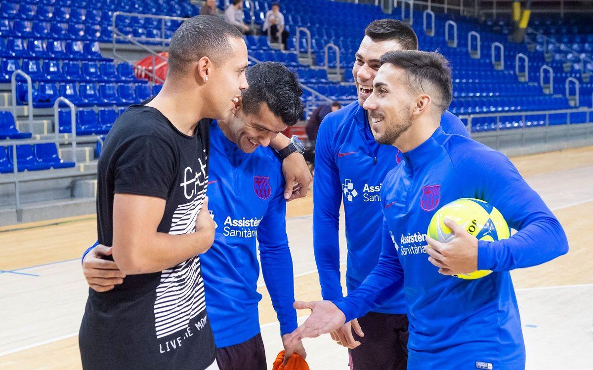 El Barça de Futsal volverá a arrancar el 3 de agosto