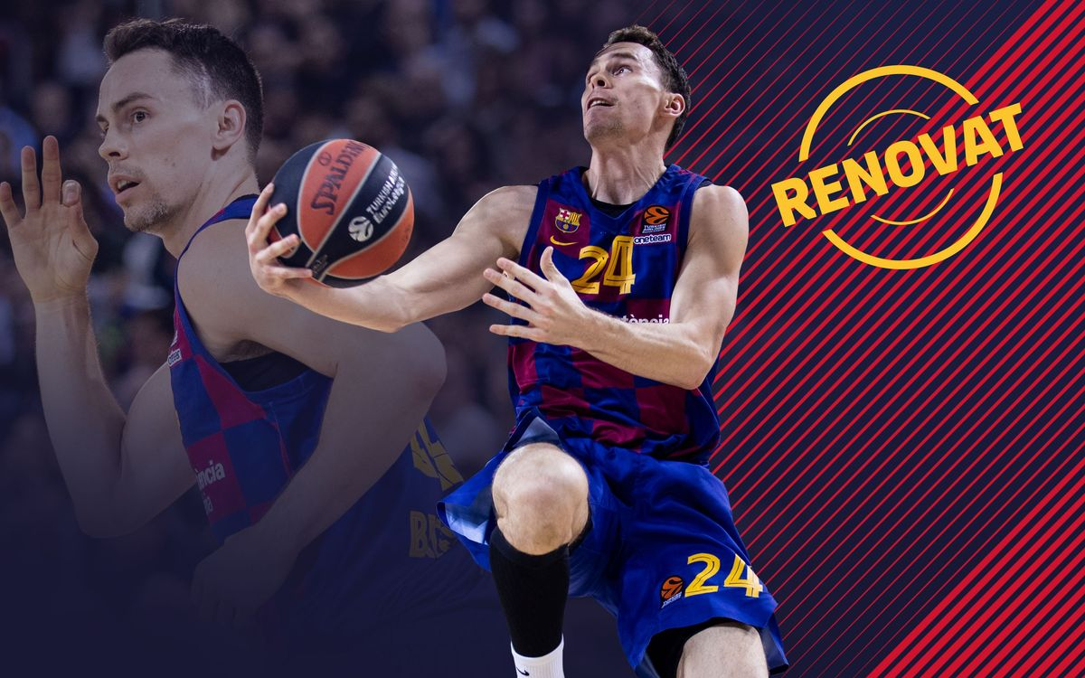 Kyle Kuric will stay at Barça until 2023