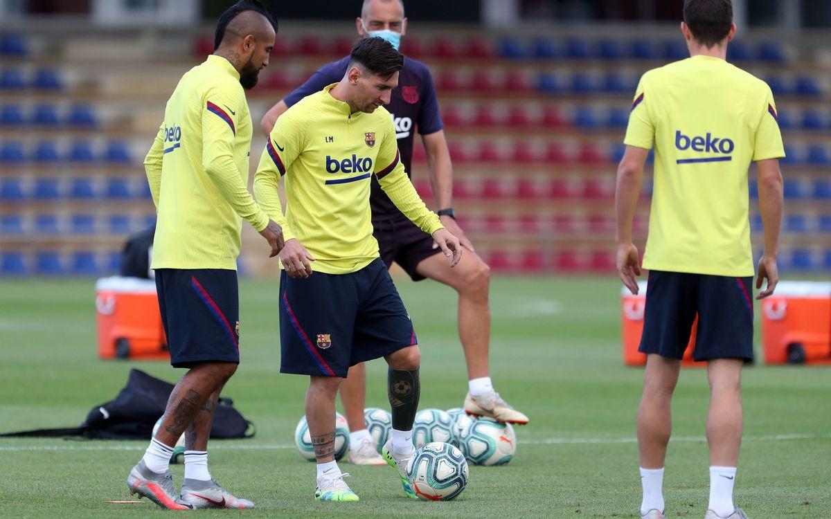 Le groupe du Barça convoqué pour le déplacement à Villarreal