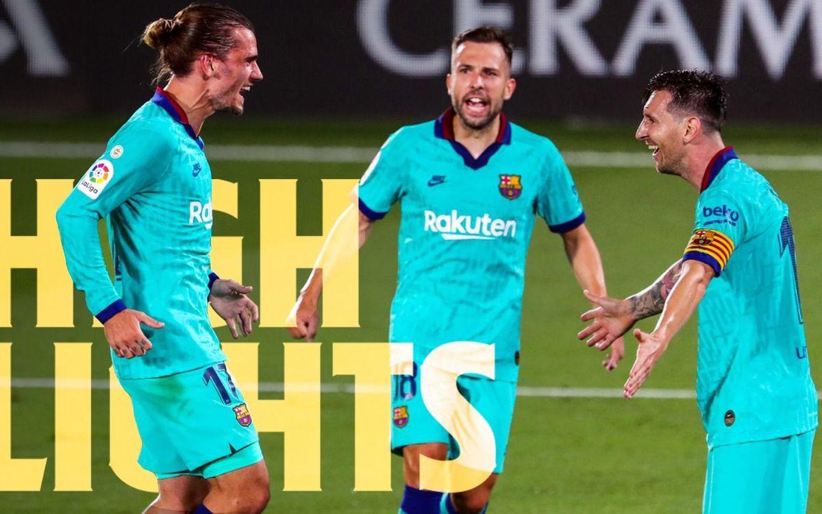 Les moments forts du festival du Barça à Villarreal (1-4)