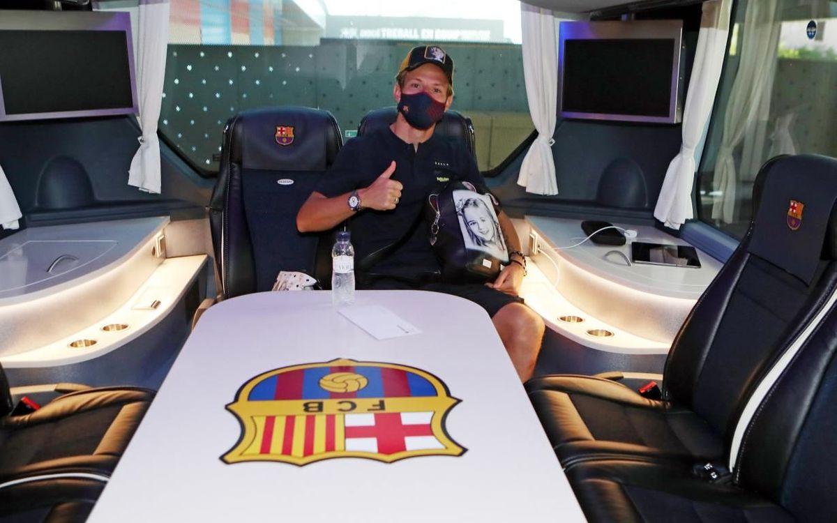 """""""Barselona"""" Villarrealga yetib keldi  FOTOLAVHA"""