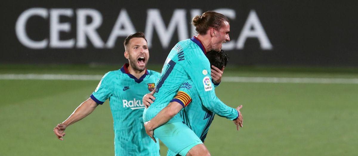 Vila-real – Barça: Golejada per seguir lluitant la Lliga (1-4)