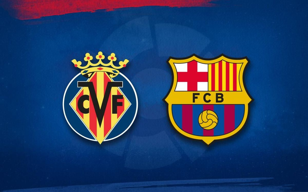 Barça lineup for Villarreal game