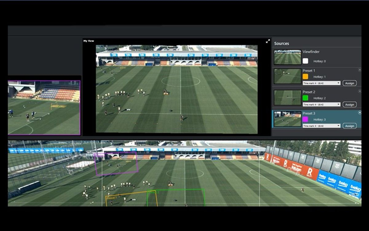Barça Innovation Hub and Pixellot to develop new systems for automated recording of training sessions and games
