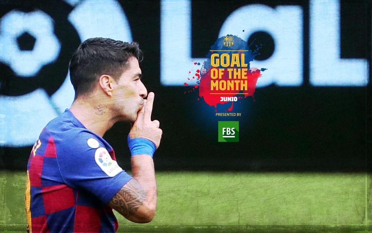 El primer gol de Suárez contra el Celta, escogido 'Goal of the Month' de junio