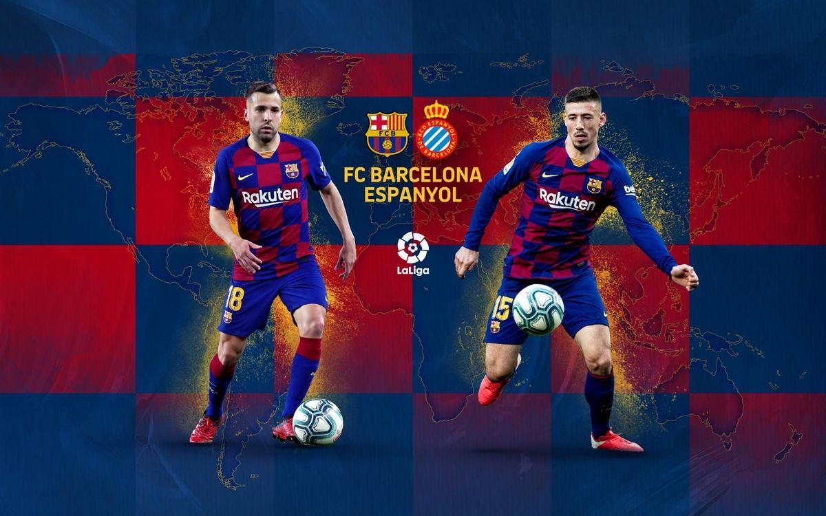 When and where to watch Barça v Espanyol