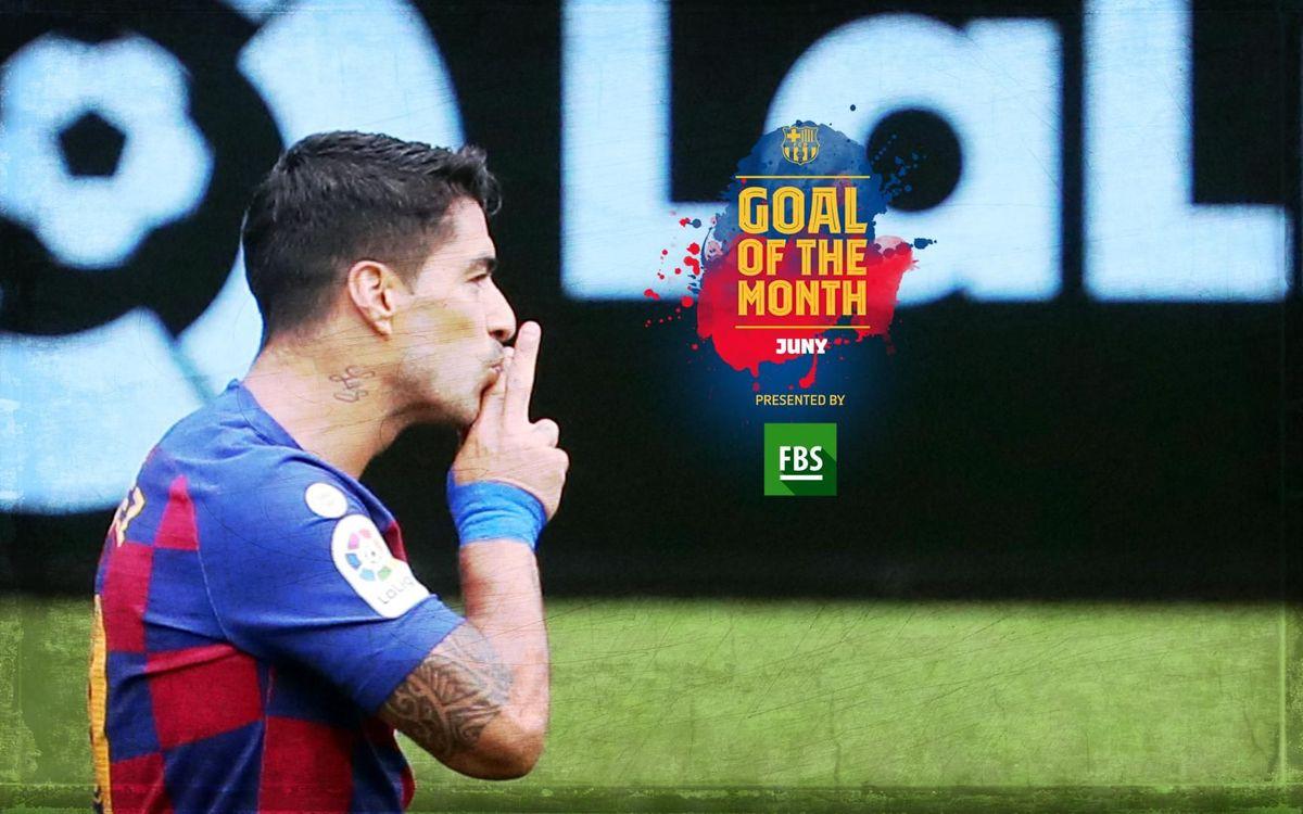 Le 1er but de Suarez contre le Celta, élu plus beau but du mois de juin