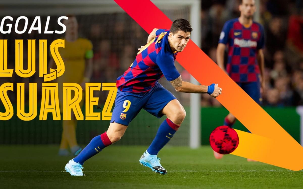 Tous les buts de Suarez