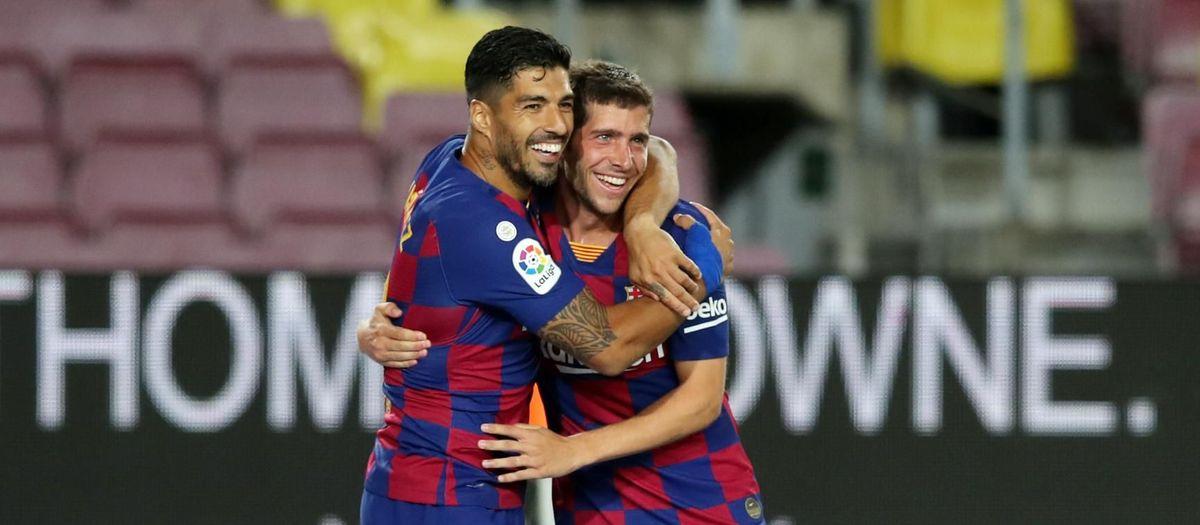 Barça - Espanyol: El derbi es queda a casa (1-0)