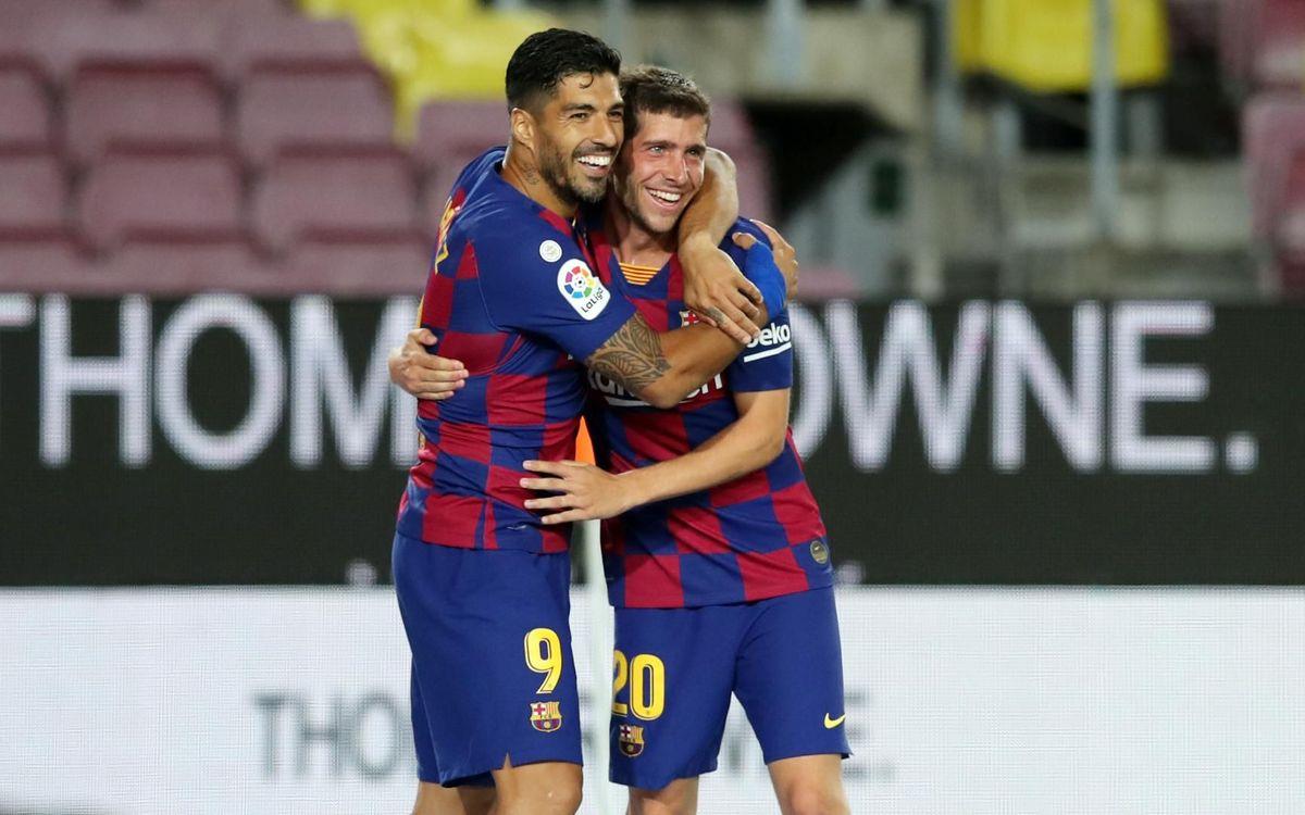 FC Barcelona 1-0 Espanyol: Job done