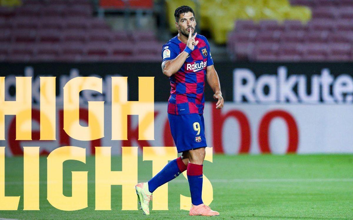 Les moments forts de Barça - Espanyol (1-0)