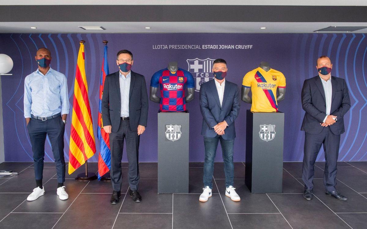 Garcia Pimienta signa la seva renovació de contracte