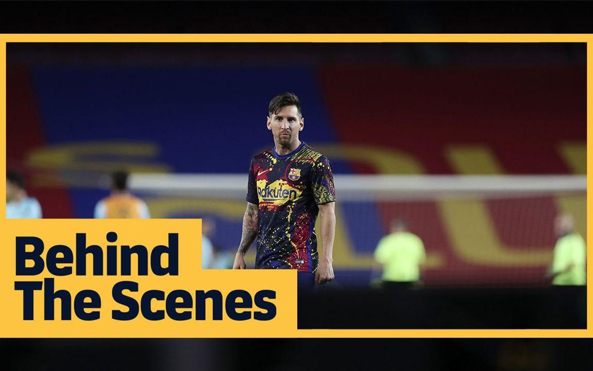 Les coulisses du derby remporté par le Barça
