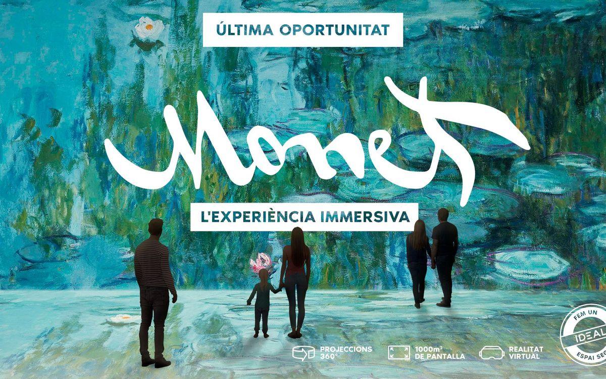 """Darrera oportunitat per gaudir de """"Claude Monet, l'experiència immersiva"""""""