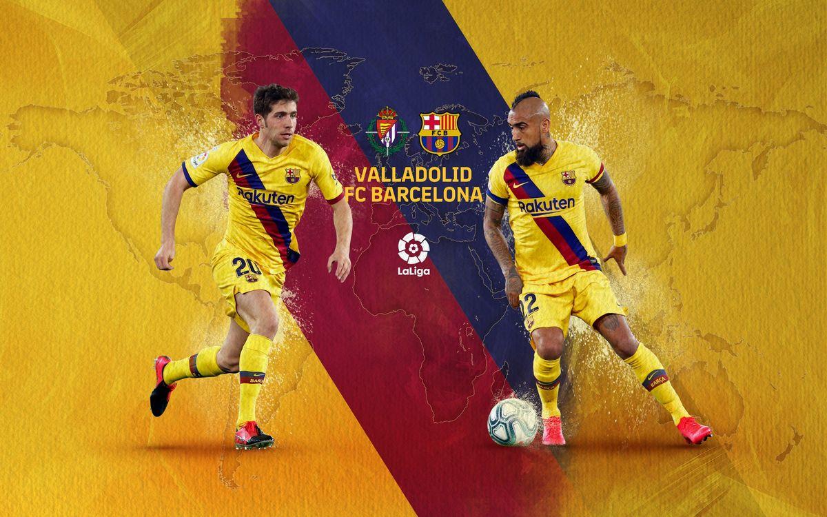 Cuándo y dónde ver el Valladolid - Barça