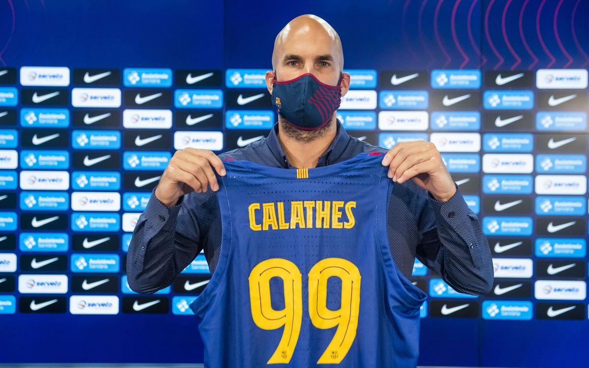 """Calathes: """"Quan em va trucar el Barça tenia clar que volia venir"""""""