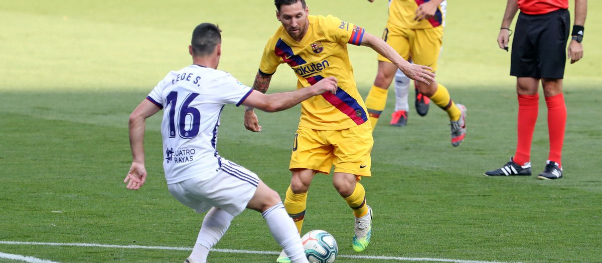 The best photos from Valladolid v Barça