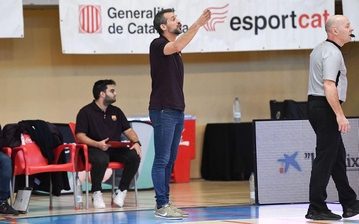 Mateo Rubio, nuevo entrenador del Barça B