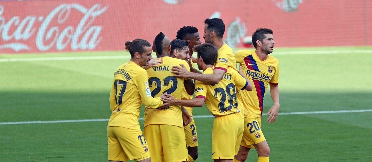 Valladolid - Barça: Continúa la lucha por el título (0-1)