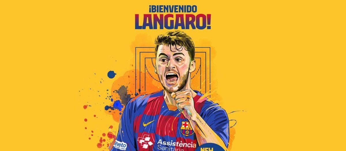 Haniel Langaro, nou jugador del Barça