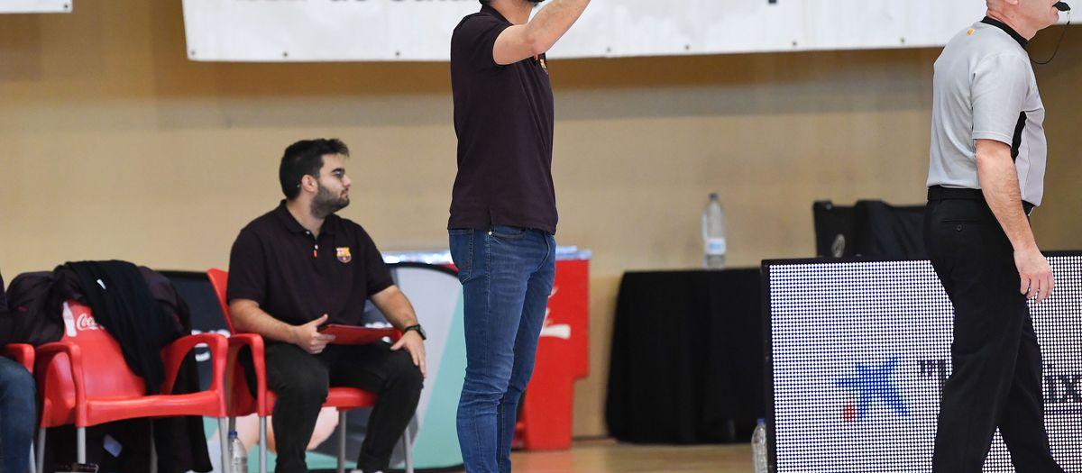 Mateo Rubio, nou entrenador del Barça B