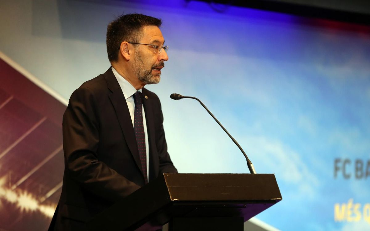 Bartomeu: 'Messi's future is here'