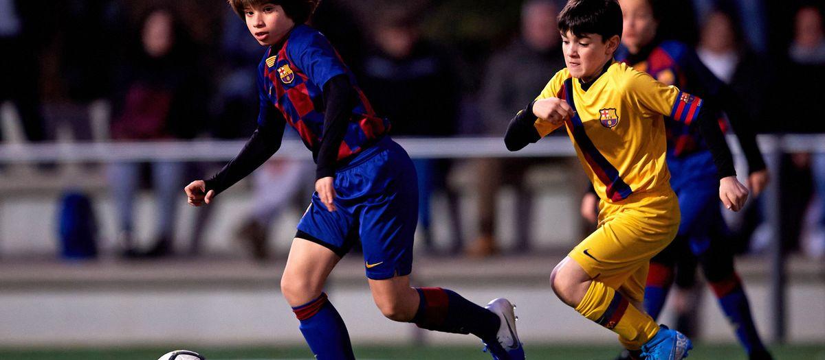 Five Barça Escola Barcelona athletes to join Barça youth teams