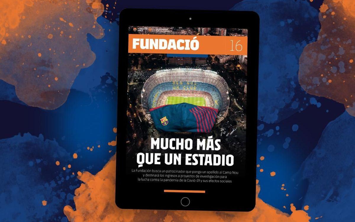 Nueva Revista Fundación, dedicada a la lucha del Barça contra la Covid-19