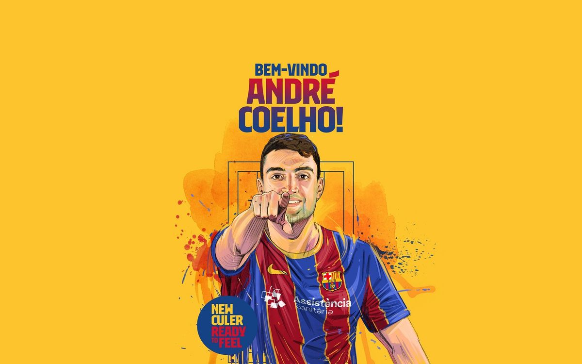 André Coelho, first signing for 2020/21