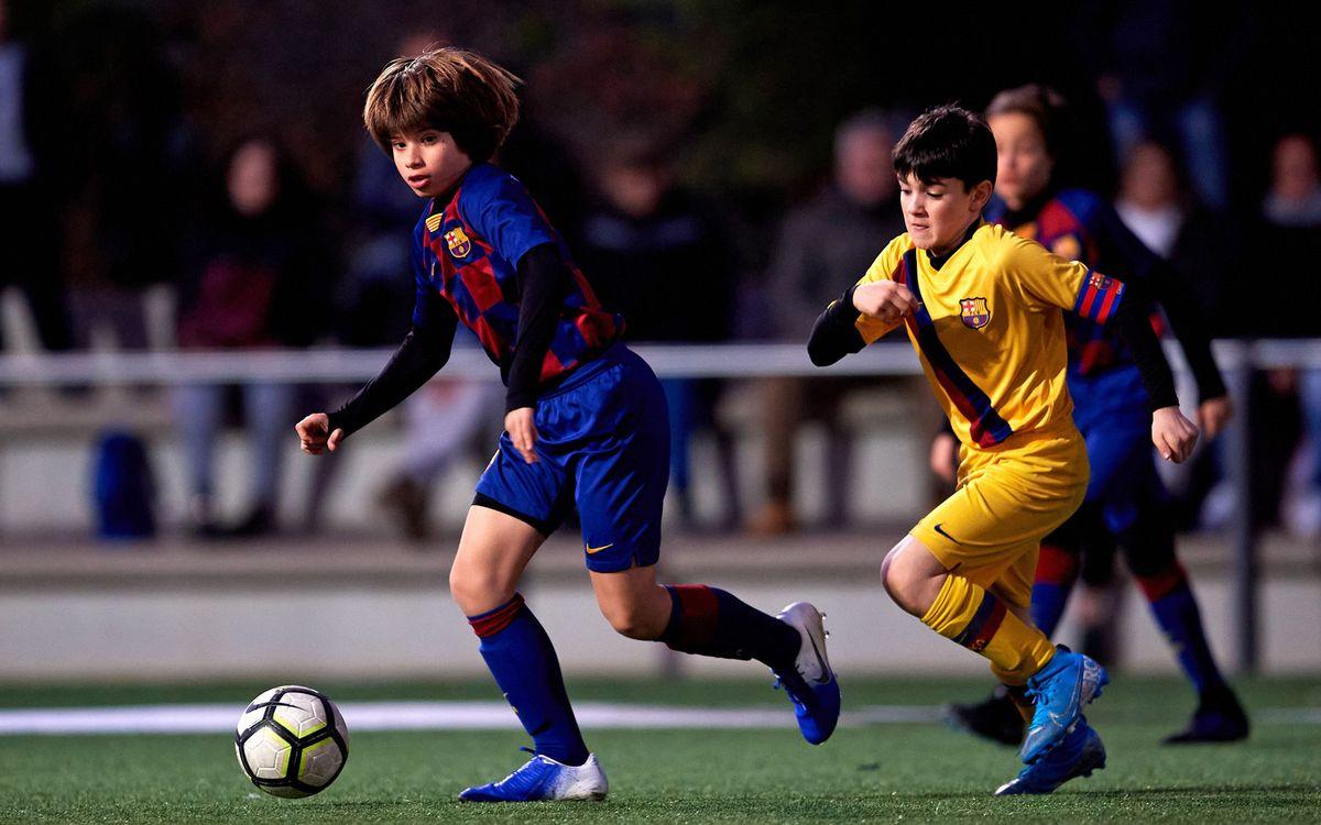 Cinco deportistas de la Barça Escola Barcelona acceden a los equipos formativos