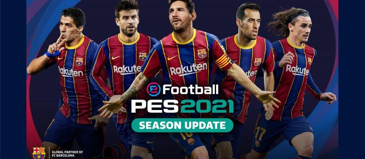 Konami anuncia l'eFootball PES2021 Edició FC Barcelona