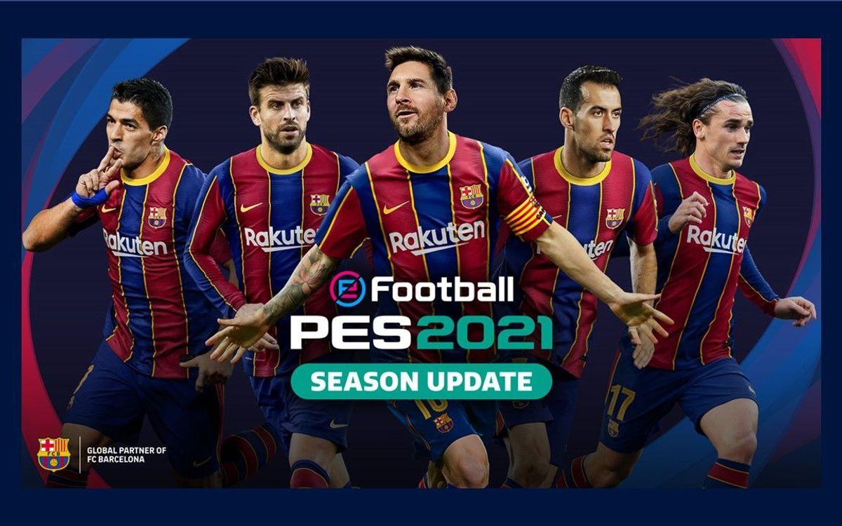 Konami anuncia eFootball PES 2021 Edición del FC Barcelona